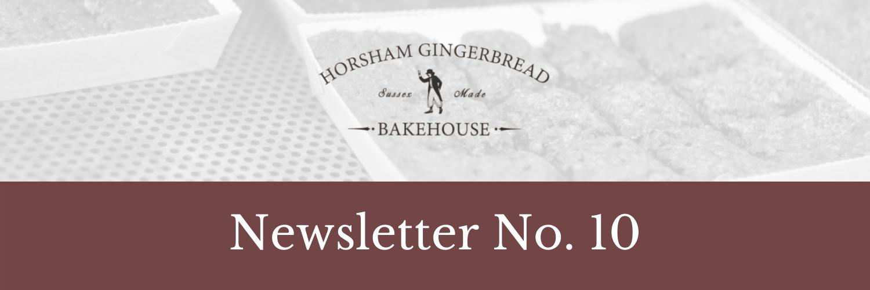 Horsham Gingerbread NEwsletter Blog HEader